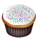 Cake, Food, White icon