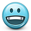 Emot Happy Smile icon