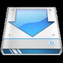 download,drive,descending icon