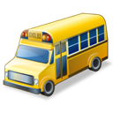 Bus, School icon