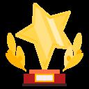 winner, star, award, prize, trophy, advantage, quality icon