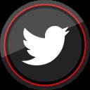 media, logo, twitter, social icon