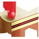 cake, cream, slice, ice icon