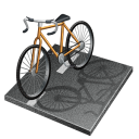cycling, road icon