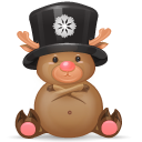 christmas, deer icon