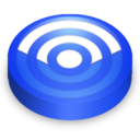 rss,blue,subscribe icon