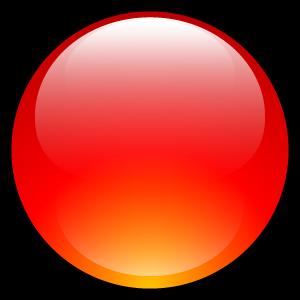 ball, aqua, red icon