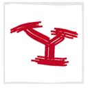 yahoo, white icon