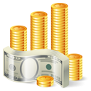 coin, money, currency, cash icon