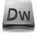 adobe, dreamweaver, cs, gray icon