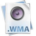 wma, file, audio, media, windows icon