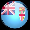country, flag, fiji icon