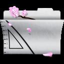 folder, white, illustrator icon