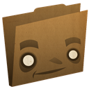 Brown, Folder icon