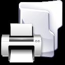 Filesystem folder print icon