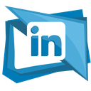 linked, network, social, in, linkedin icon