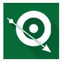 green, arrow, green arrow icon