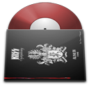 vinyl,kiss icon