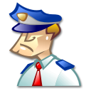 kdmconfig,police icon
