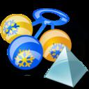 rattle, level icon
