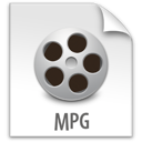mpg, file, z icon