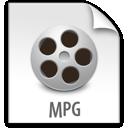 mpg, file, z icon