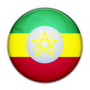 country, flag, ethiopia icon
