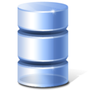 database,inactive,hot icon
