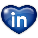 social, linkedin, media icon
