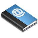 address, blue, read, book, reading icon