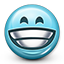 emot, grinning, teeth smile, grinn, big grin, grining, smiley face, grin, smiley icon