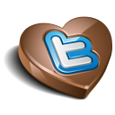 twitter chocolate icon