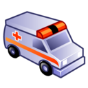 emergency, ambulance icon