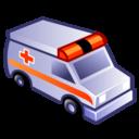emergency, ambulance icon