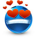 love, valentine's day, smiley, heart icon