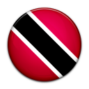 and, trinidad, country, tobago, flag icon