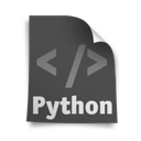 page, python icon