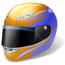 motorsport, helmet icon