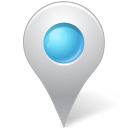 Azure, Inside, Map, Marker icon