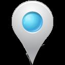 inside, marker, azure, mapmarker icon