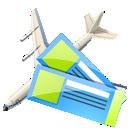 tickets, air icon