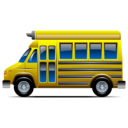 transportation, bus, behicle, school bus icon