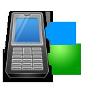 syncronize, transfer, phone icon