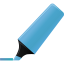 blue, highlightmarker icon