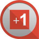 google plus +1 icon