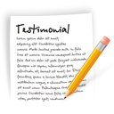file, document, write, blog, testimonial icon