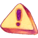 Caution! icon