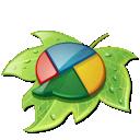 google buzz, leaf, buzz, google icon