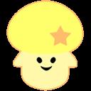 bookmark, star, favourite, yellow icon