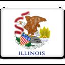 illinois,flag icon